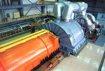фото турбогенератор мощностью 900 мвт